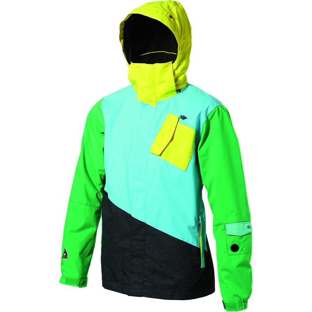 oneill escape tilted insulated snowboard jacket mens
