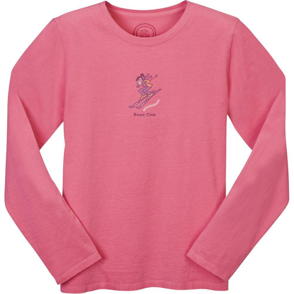 Life is Good Crusher Down Time Long-Sleeve T-Shirt (Women's ...