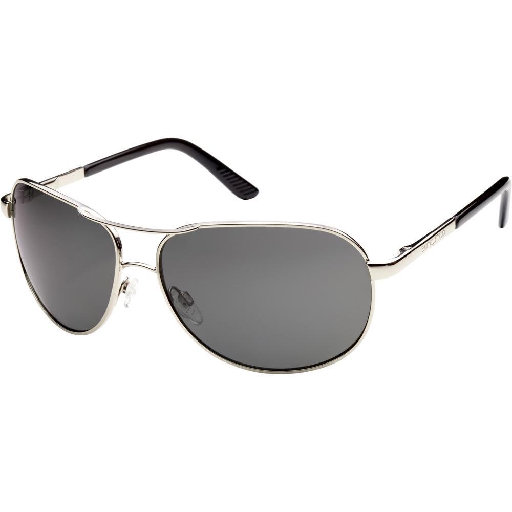 Suncloud Aviator Sunglasses - Silver