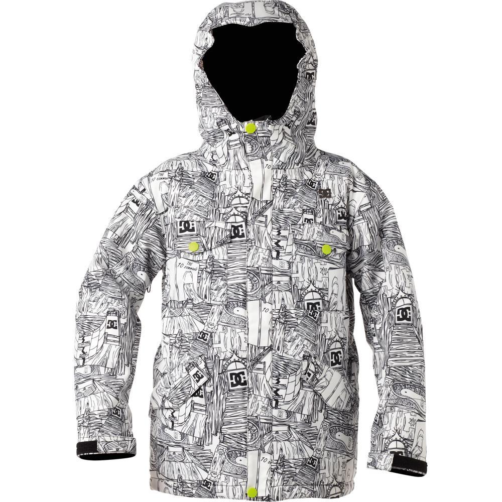 395668b44 DC Servo K 13 Insulated Snowboard Jacket (Boys )