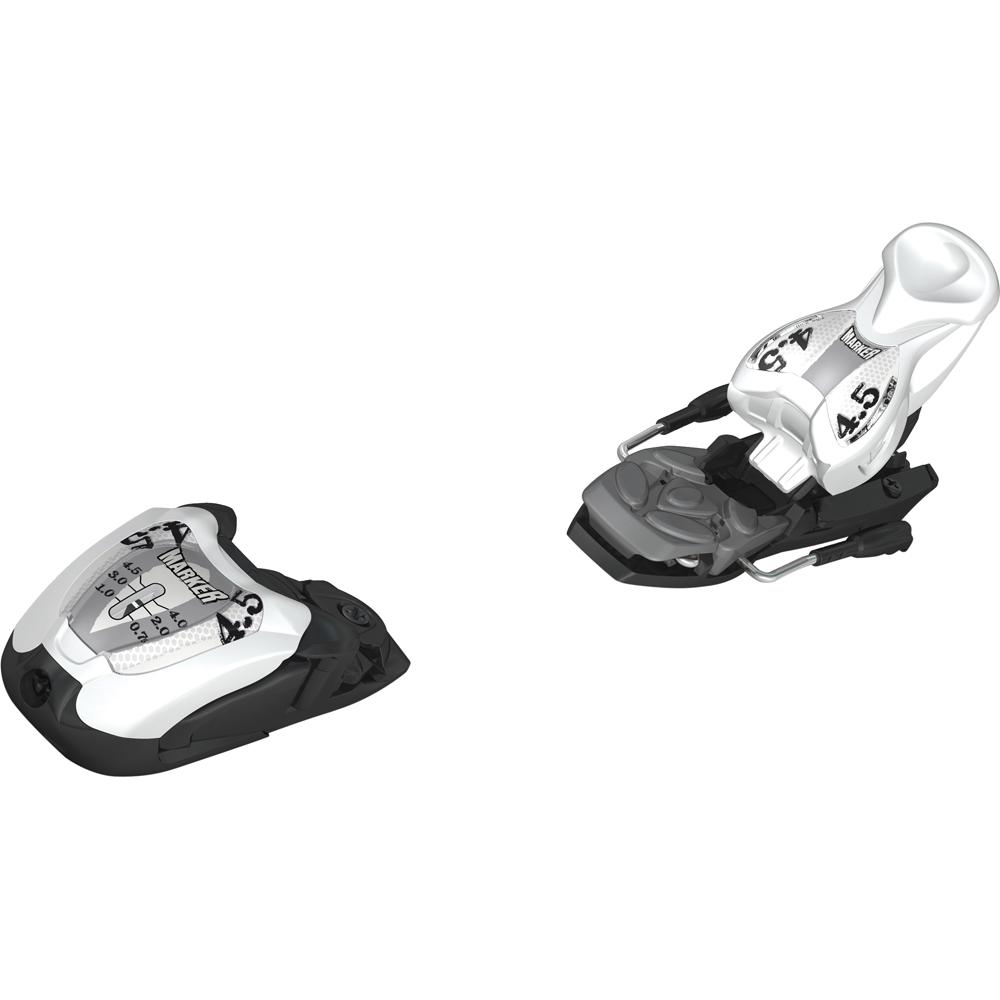 Marker M 4.5 EPS Ski Binding - White/Black