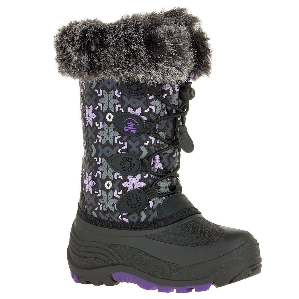 Kamik Snowgypsy Boot (Girls') - Black Floral