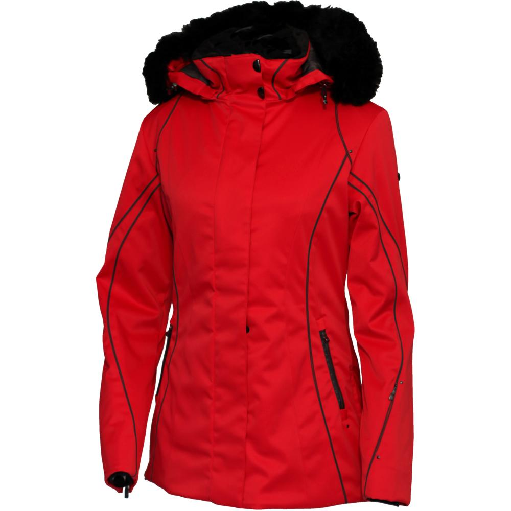 Meco Lauren Insulated Ski Jacket with Faux Fur (Women s) - 47f80e2af