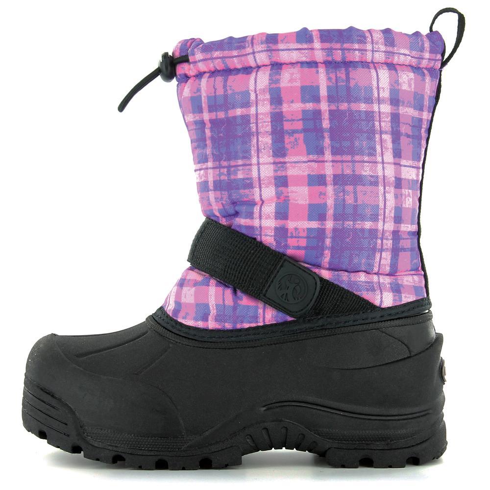 Northside Frosty Boot (Kids') - Purple Plaid