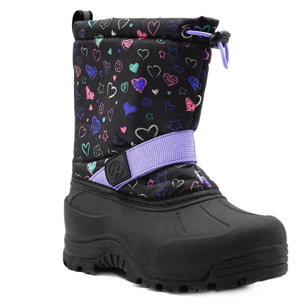 Northside Frosty Boot (Little Kids') - Black/Purple