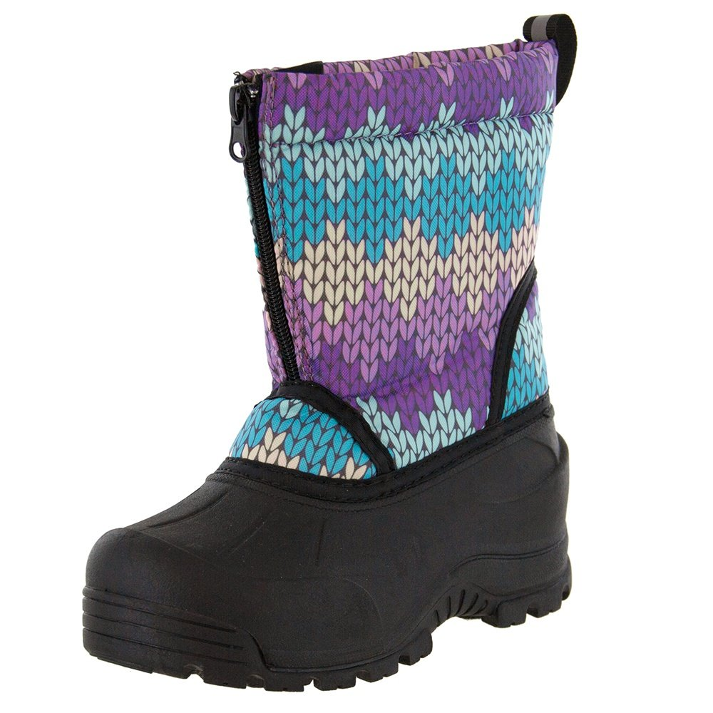 Northside Icicle Boot (Little Kids') - Purple/Turquoise