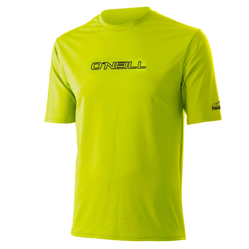 O'Neill Skins Basic Rashguard T-Shirt (Men's) - Lime