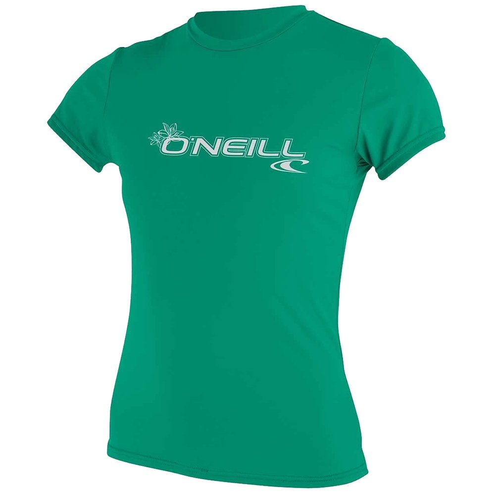 O'Neill Basic Rashguard T-Shirt (Women's) - Seaglass