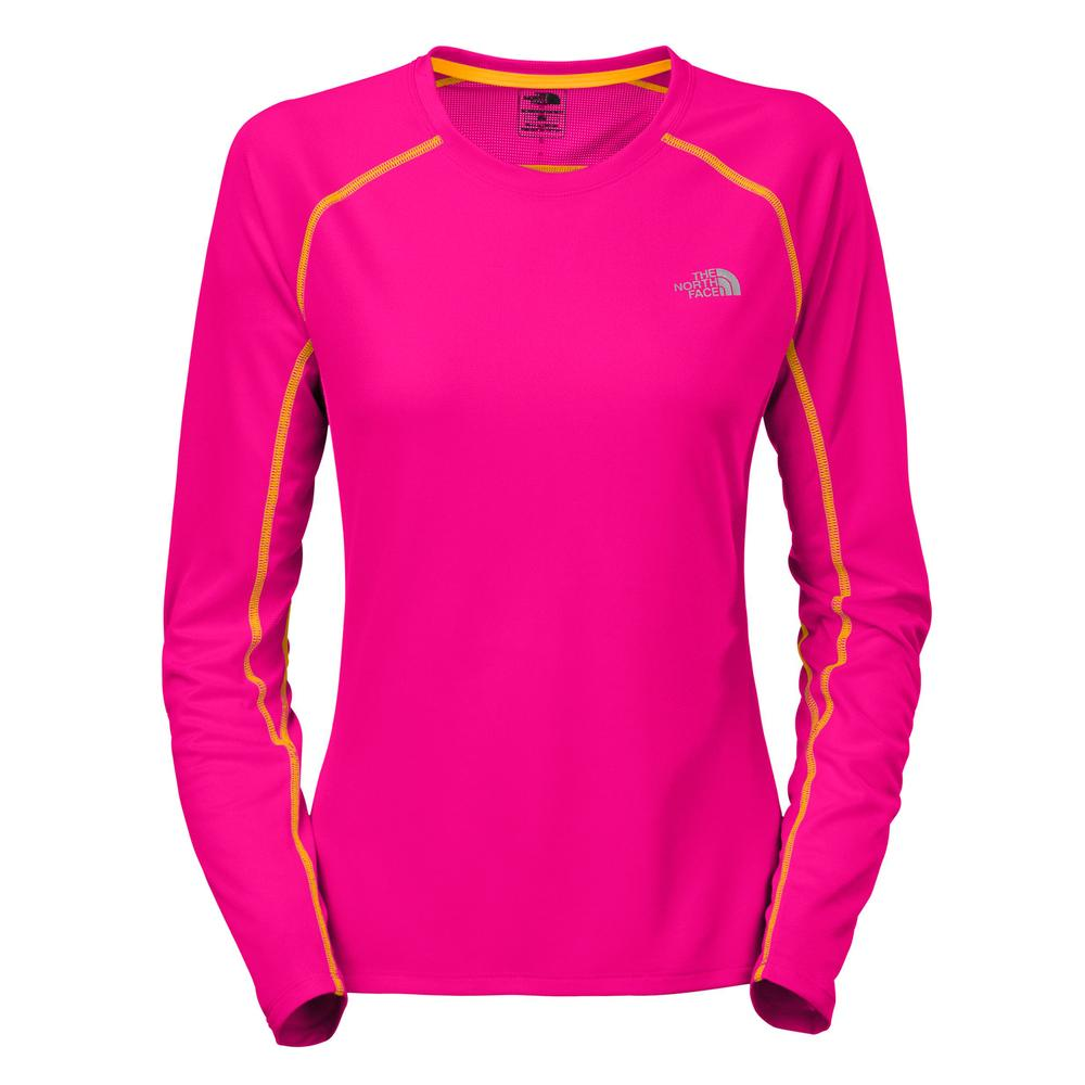 The north face gtd long sleeve running shirt women 39 s for Women s running shirts