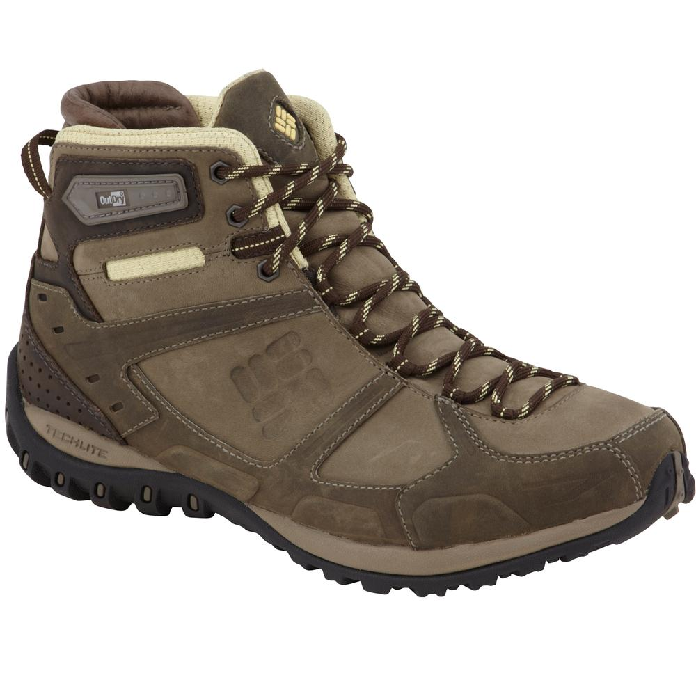 Columbia Yama Mid Leather Outdry Hiking Shoe Women S