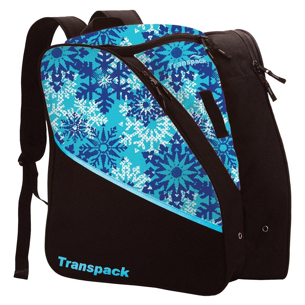 Transpack Edge Jr Print Boot Bag (Kids') - Aqua Snowflake