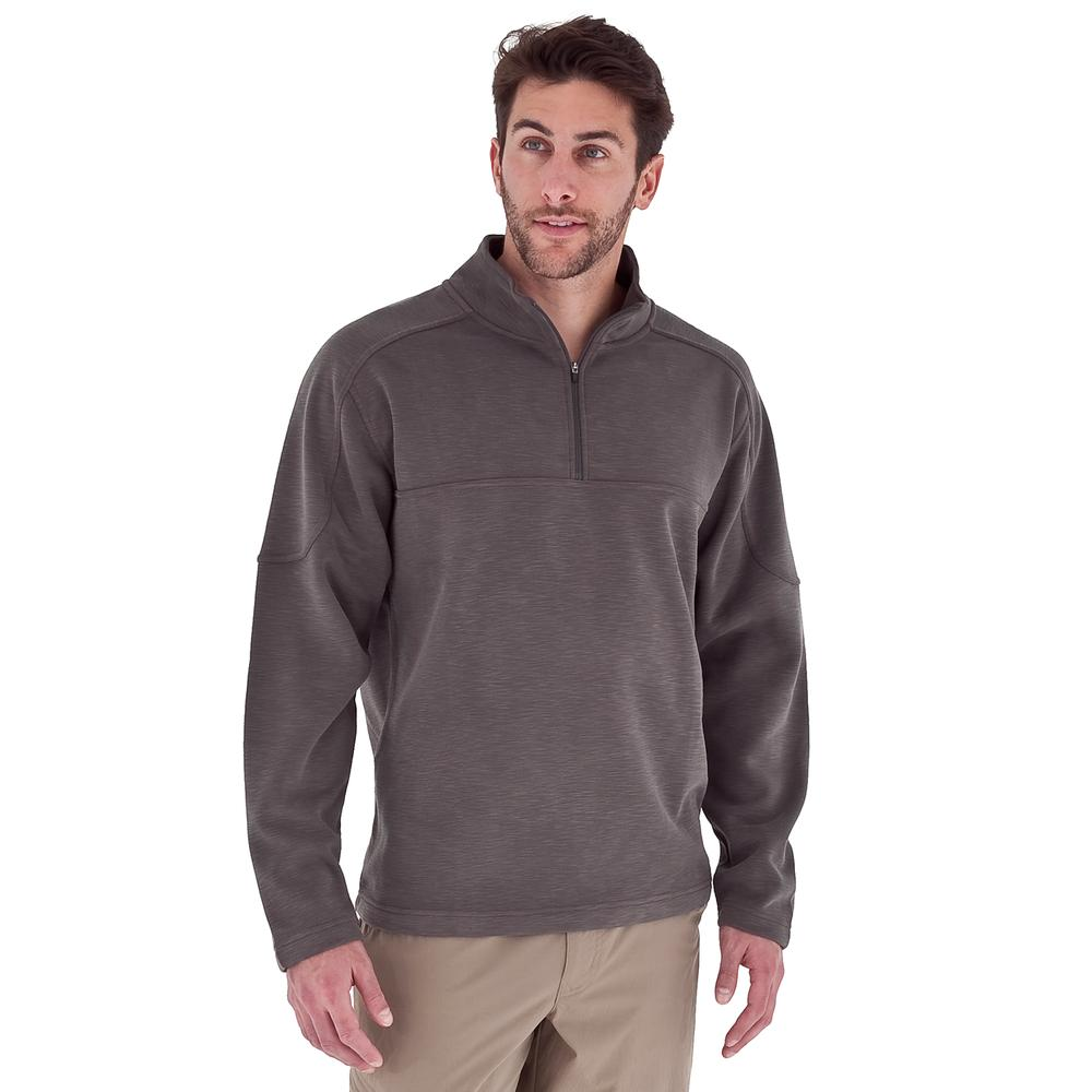 Royal Robbins Desert Knit Plus Half Zip Sweater (Men's) - Arrowhead