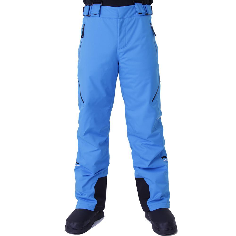 Volkl Yellow Stone Insulated Ski Pant (Men's) - Bright Azure/Black