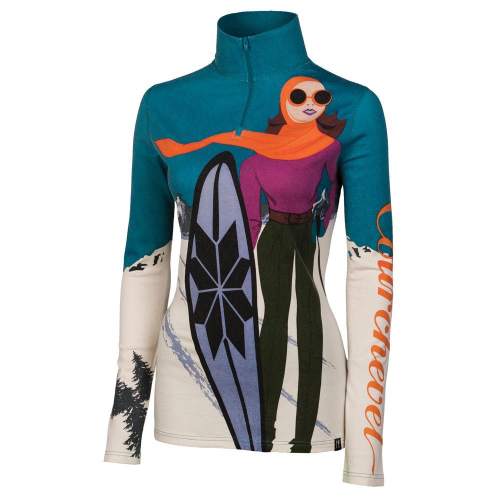 Neve Courchevel Zip Neck Sweater (Women s) - 8697425cd