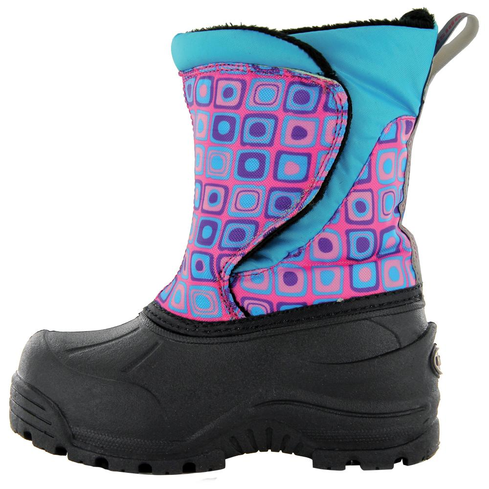 Northside Snoqualmie Boot (Little Kids') - Pink/Turquoise