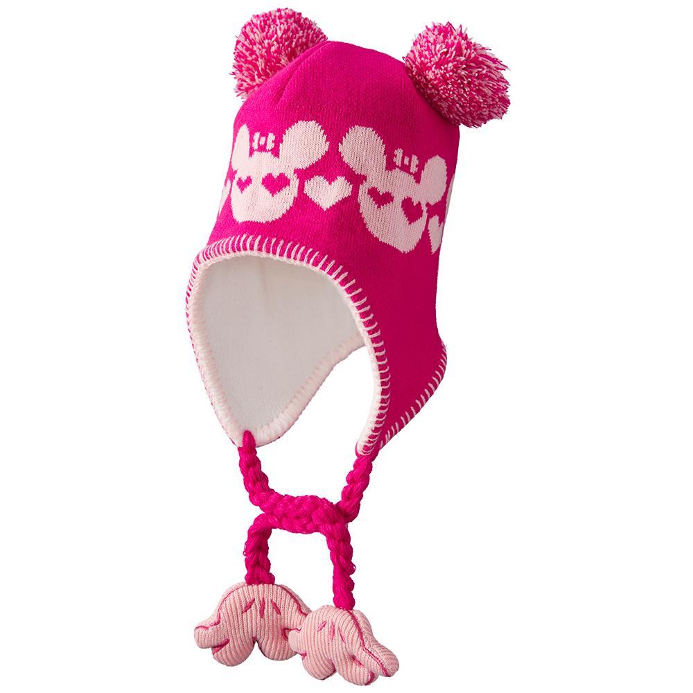 Screamer Sookie Aviator Hat (Little Girls') - Fushia/Pink