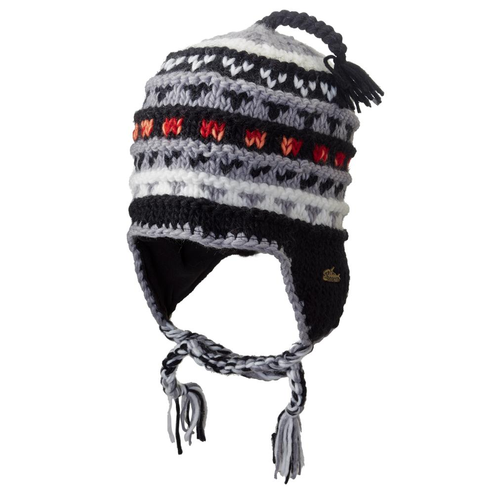 Screamer Annapurna Hat (Men's) - Black/Red/Melon