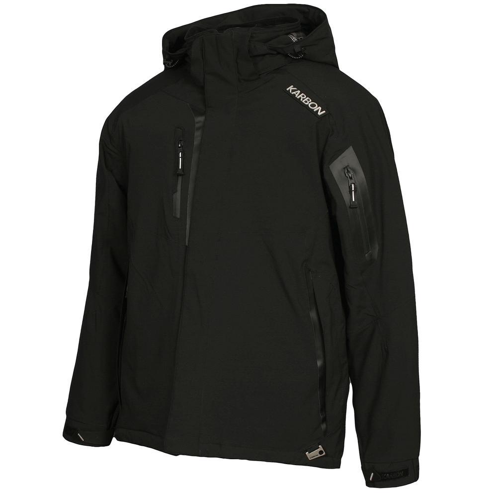 Karbon Aluminum Insulated Ski Jacket Men S Peter Glenn