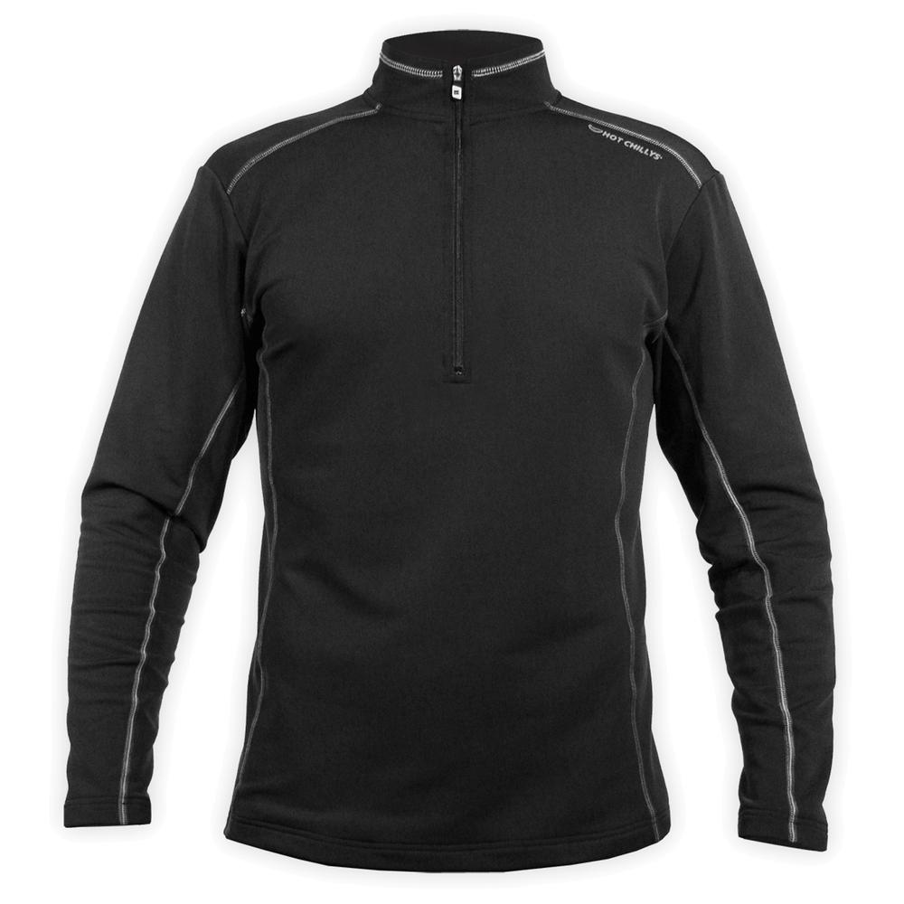 Hot Chillys ME XT Heavyweight Baselayer Top (Men's) - Black/Granite