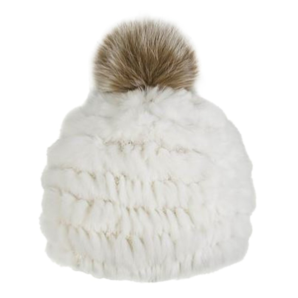 Peter Glenn Rabbit Beanie (Women's) - White/Fox