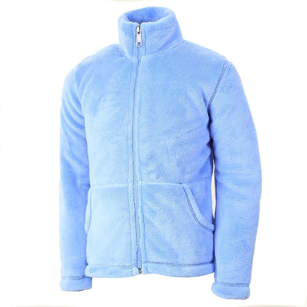 White Sierra Magic Mountain Fleece Jacket (Girls') - Sky