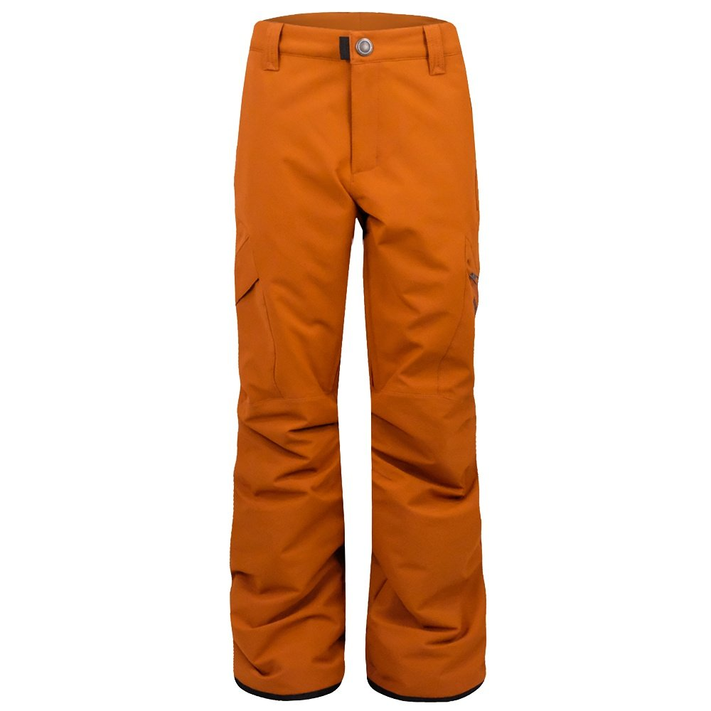 Boulder Gear Bolt Cargo Ski Pant (Kids') - Orange Rust