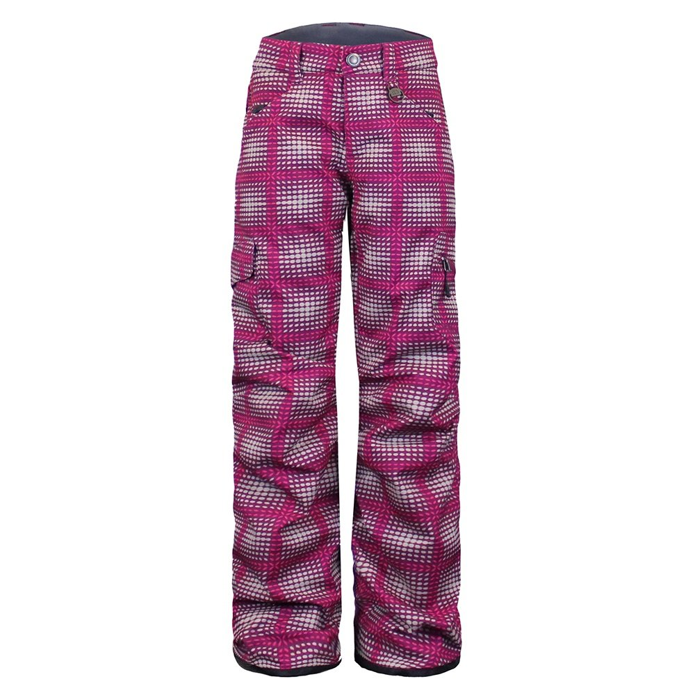 Boulder Gear Ravish Ski Pant (Girls') - Maroon Flicker Print