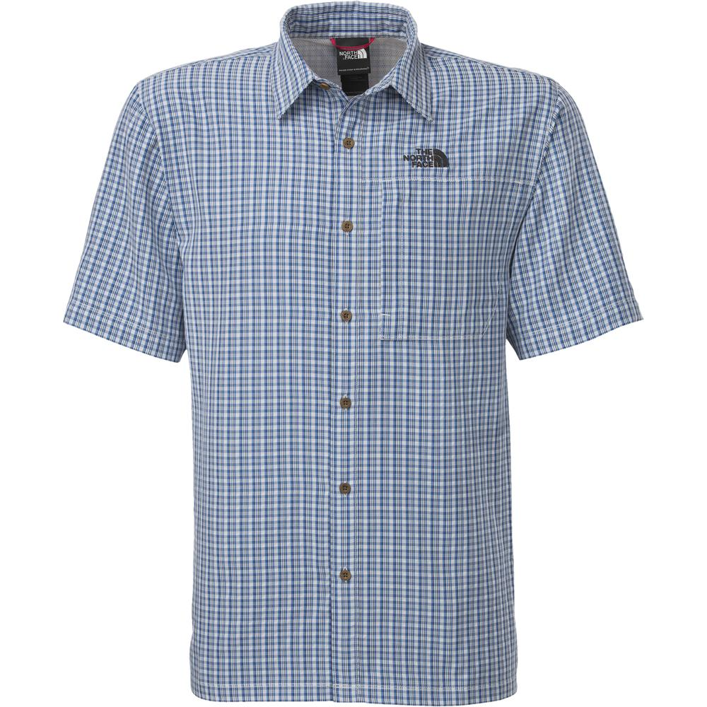The North Face Paramount Plaid Woven Shirt (Men's) - High Rise Grey