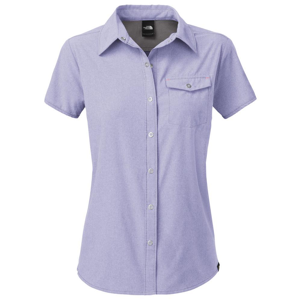 The North Face Short Sleeve Taggart Shirt (Women's) - Lavendula Purple Heather