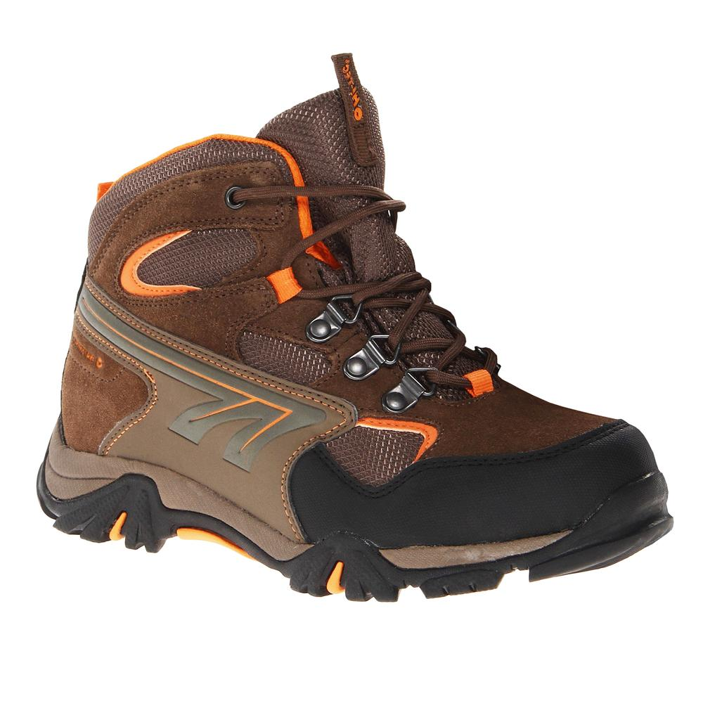 Hi tec nepal hiking boot little kids 39 peter glenn - Bruin taupe ...