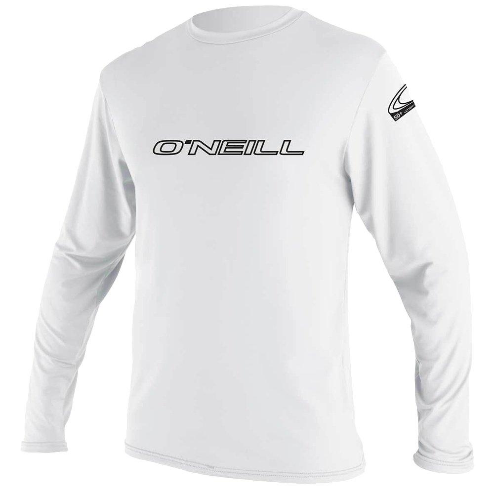 O'Neill Basic Long Sleeve Rash T-Shirt (Men's) - White