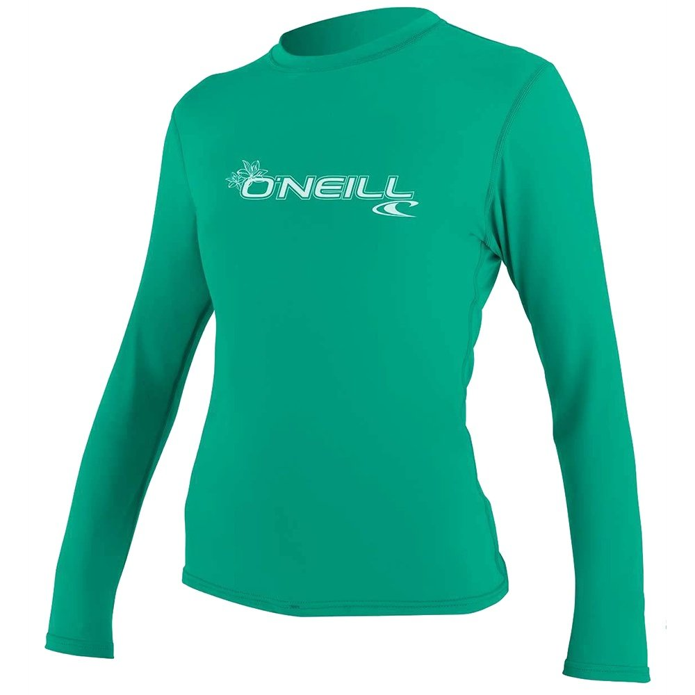 O'Neill Basic Long Sleeve Rash T-Shirt (Women's) - Seaglass