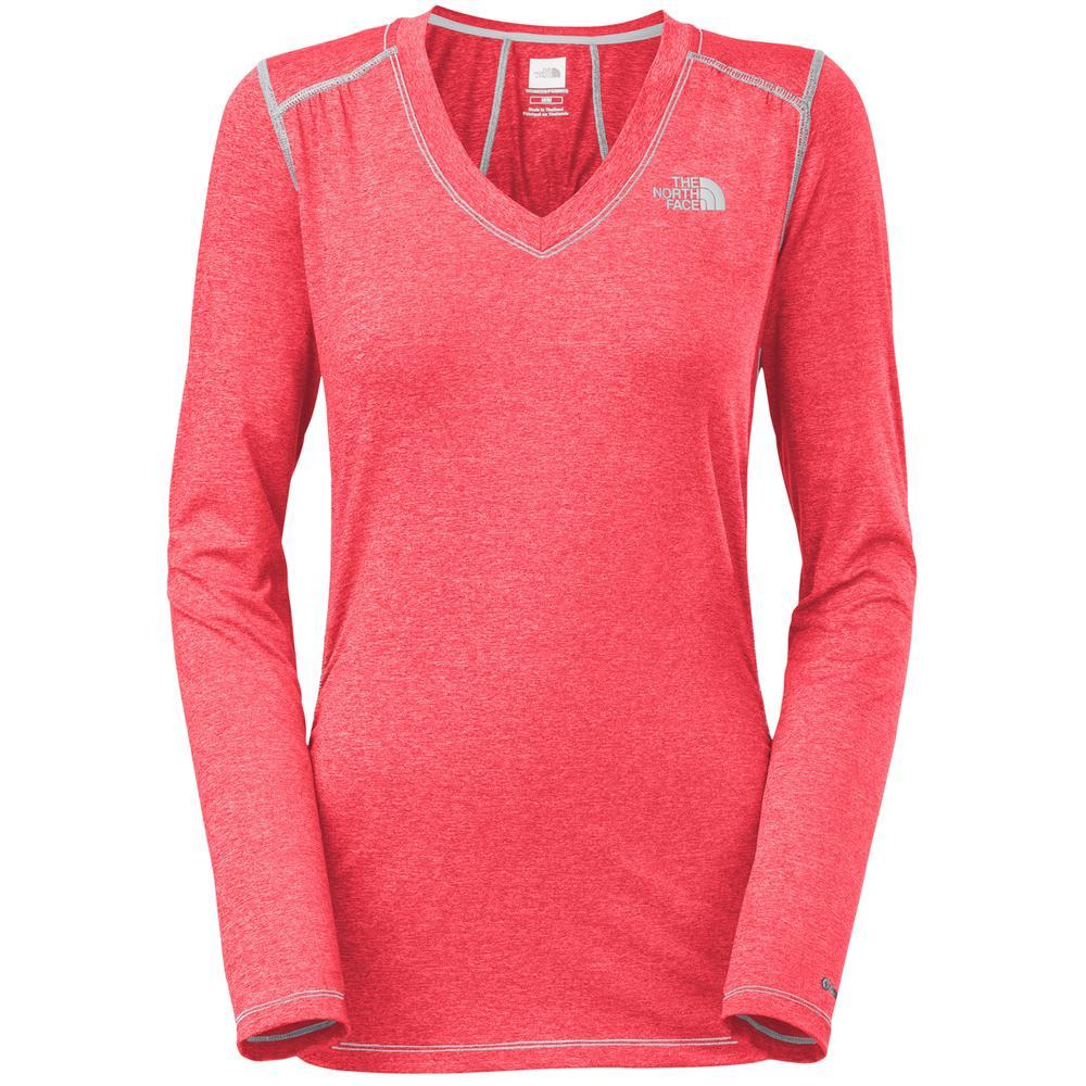 The North Face Long Sleeve RDT V-Neck Shirt (Women's) -