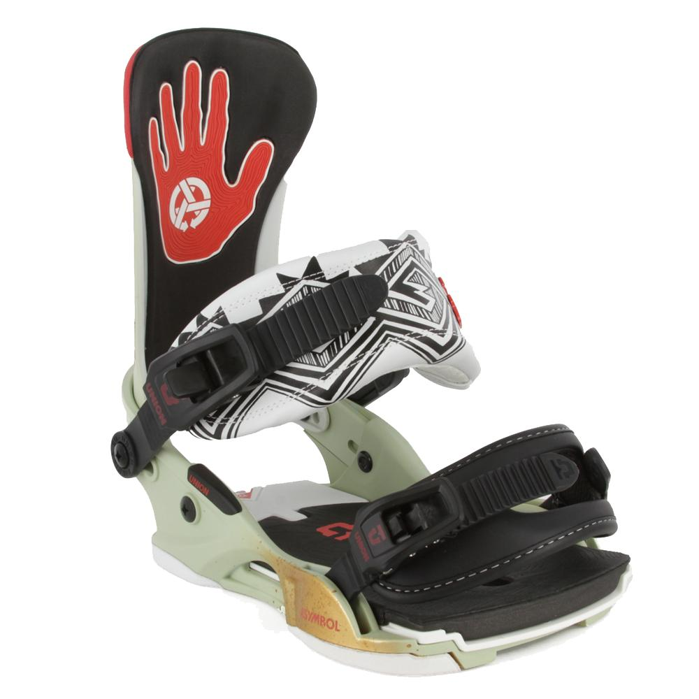 Union asymbol x custom house snowboard binding men 39 s for Housse snowboard