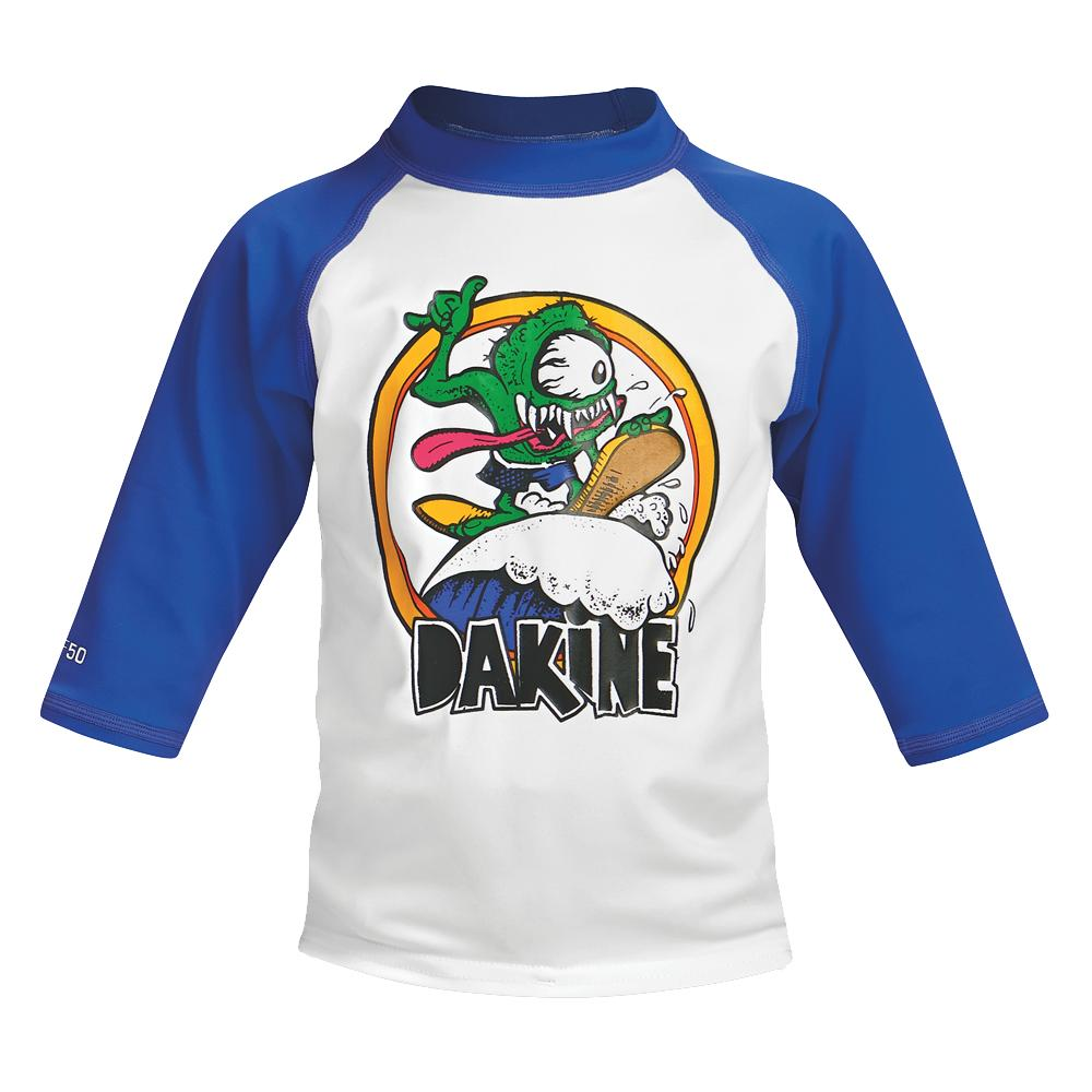 Dakine 3/4 Sleeve Rash Guard (Toddler Boys') - Pacific