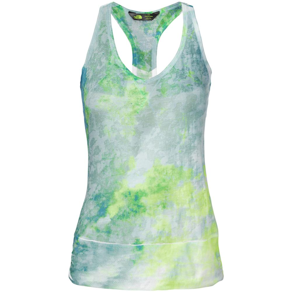 The North Face Be Calm Tank (Women's) - Mineral Blue Watercolor Paint