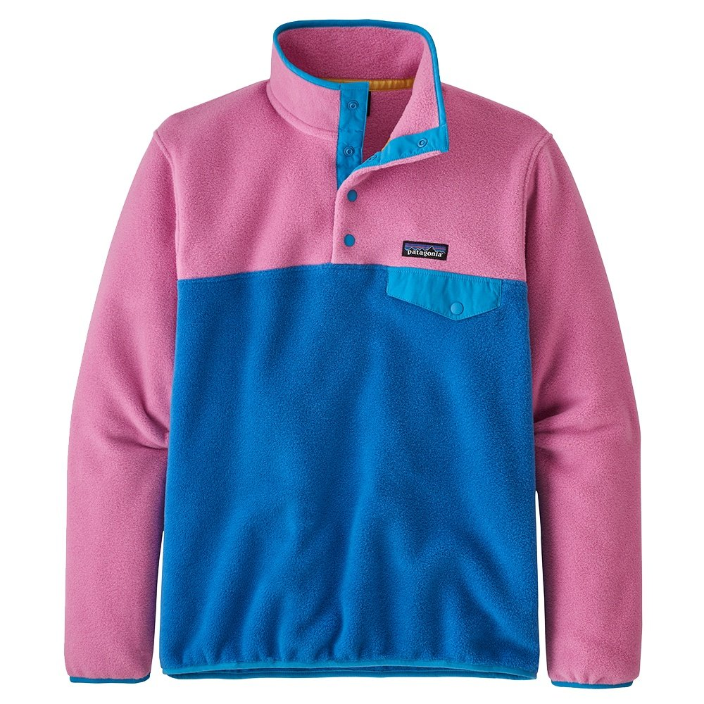 Patagonia Synchilla Lightweight Snap-T Pullover Fleece (Women's) - Marble Pink