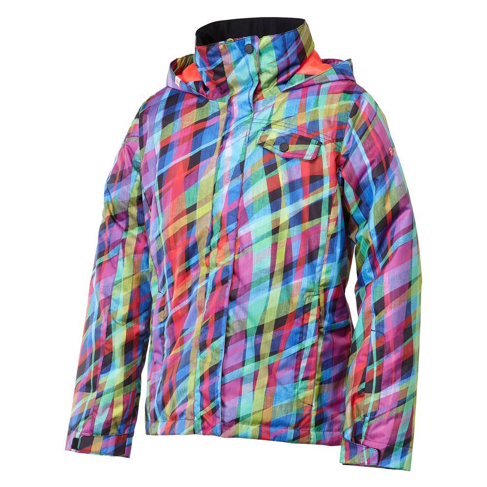 e77818508 Roxy Jetty Girl Print Snowboard Jacket (Girls')   Peter Glenn