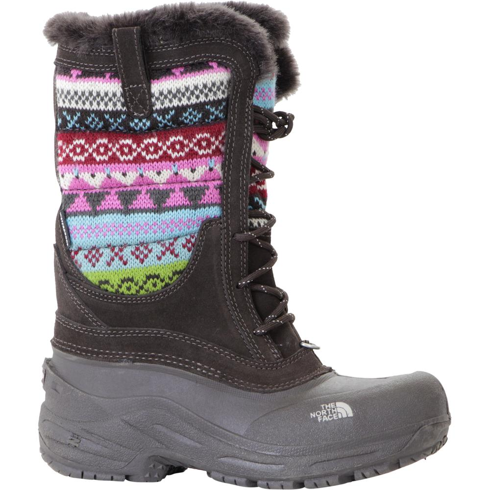 696868816 The North Face Shellista Lace Novelty Boot (Youth Girls') | Peter Glenn