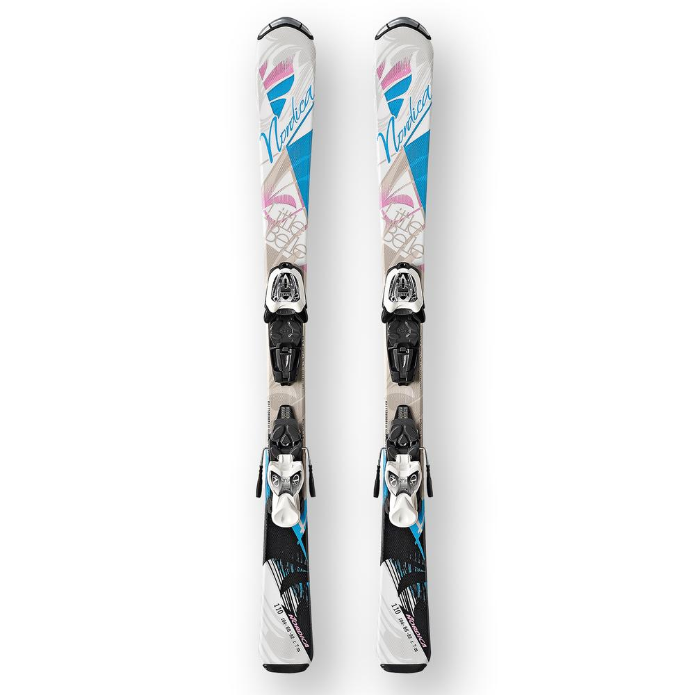 Nordica Little Belle Ski System with Bindings (Girls') -