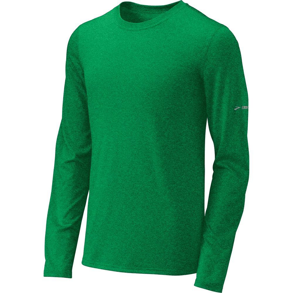 Brooks ez t long sleeve iii running shirt men 39 s run appeal for Long sleeve running shirt womens