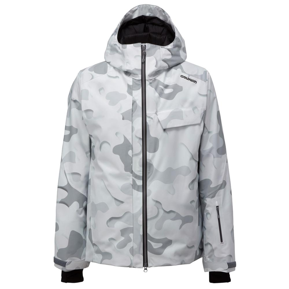 Goldwin Snow Camouflage Insulated Ski Jacket Men S