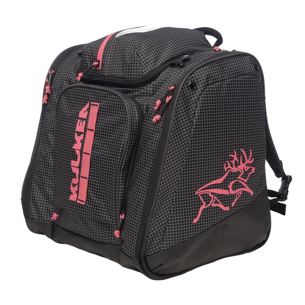 Kulkea Powder Trekker Boot Bag - Black/White/Red