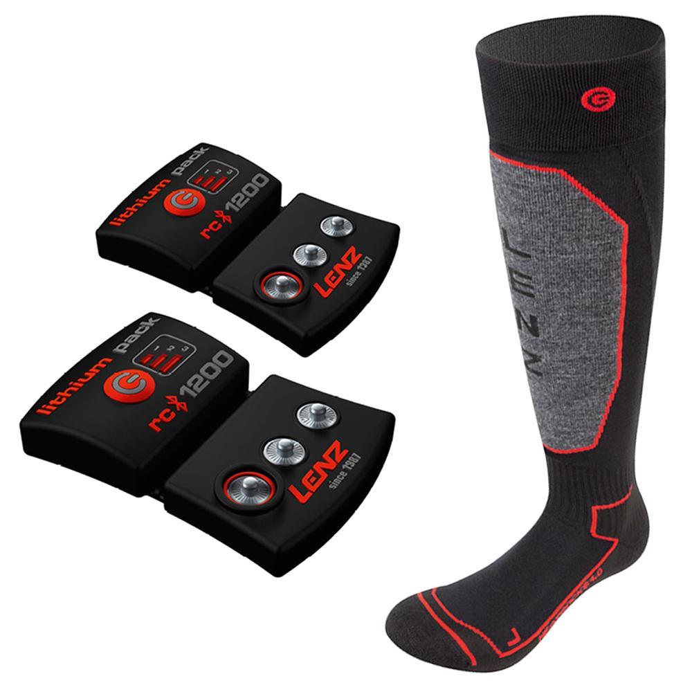 Lenz Heat 1200 1.0 Ski Sock (Men's) -