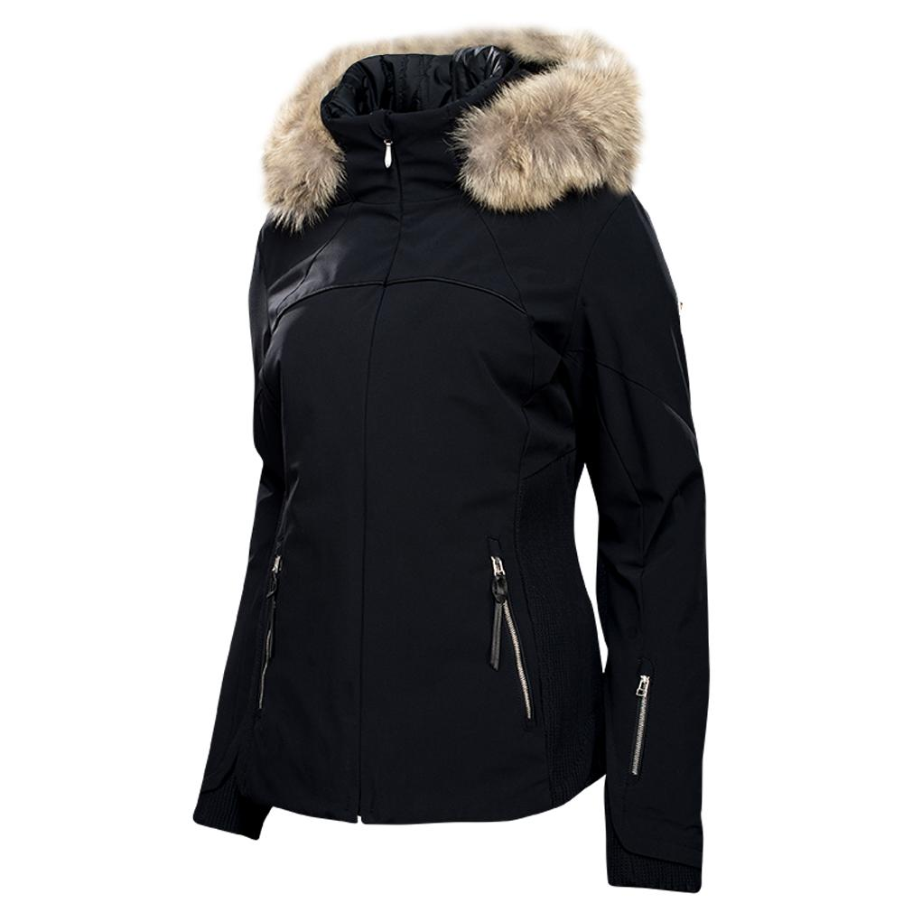 Spyder Posh Insulated Ski Jacket with Real Fur Trim (Women's ...