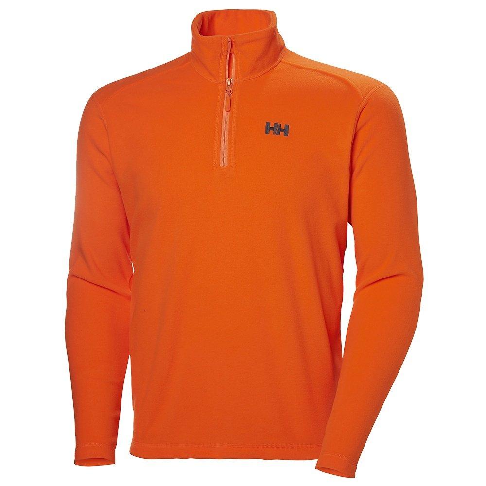 Helly Hansen Daybreaker 1/2-Zip Fleece Top (Men's) - Bright Orange