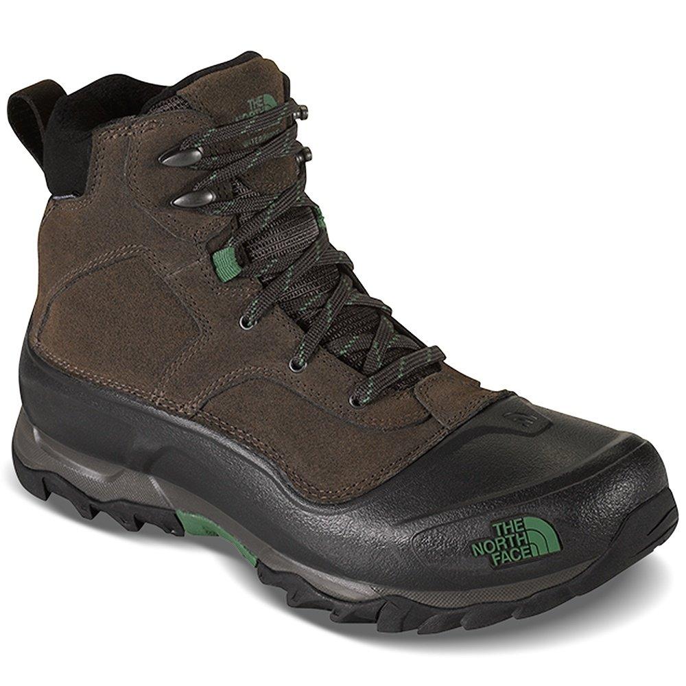 The North Face Snowfuse Boot (Men's) - Ganache Brown/Sullivan Green
