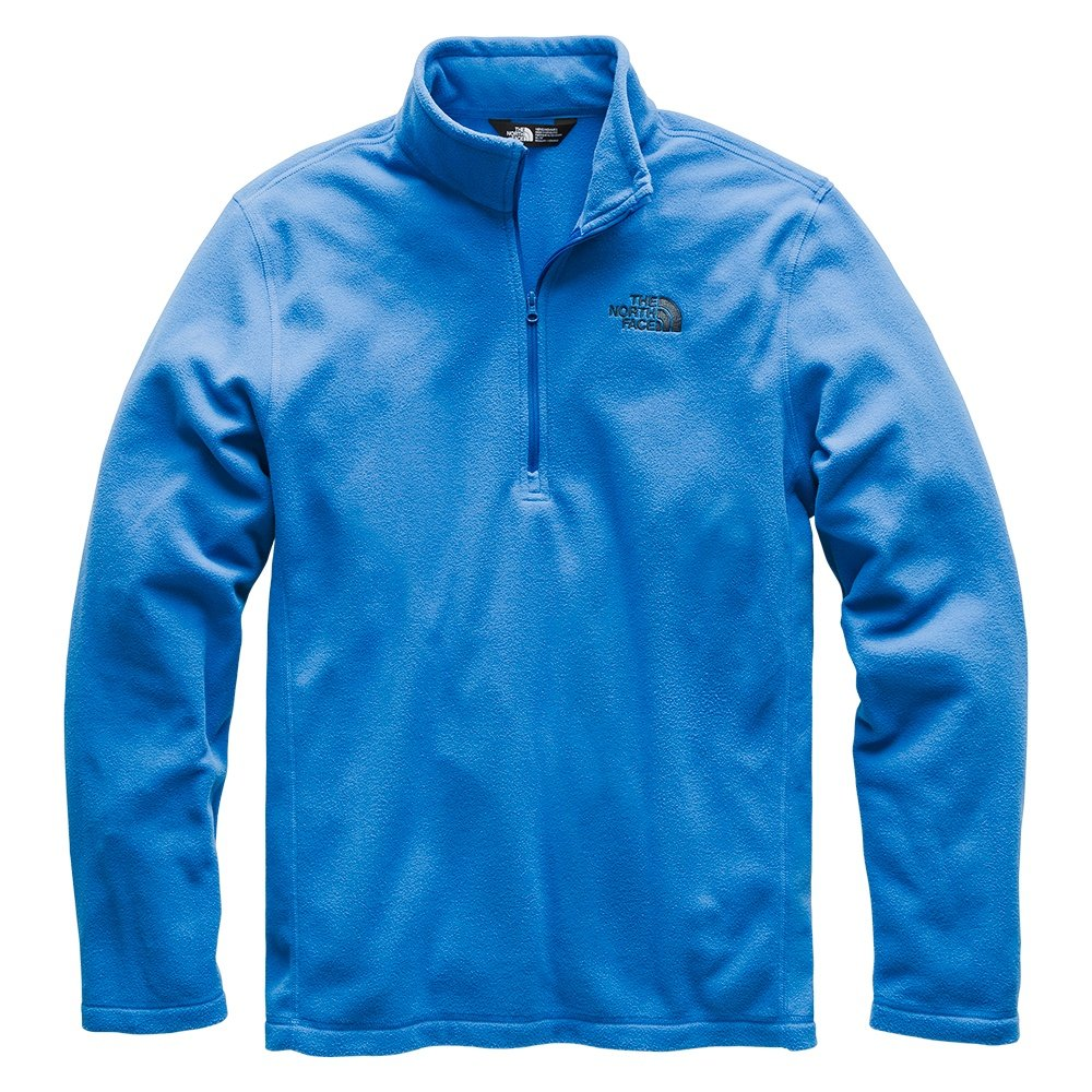 The North Face TKA 100 Glacier Half Zip Fleece Mid-Layer (Men's) - Turkish Sea