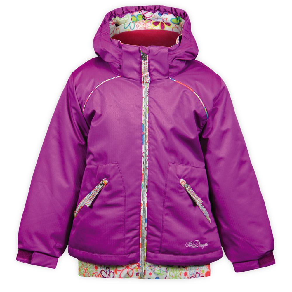 Snow Dragons Darlin Ski Jacket (Little Girls') - Grape