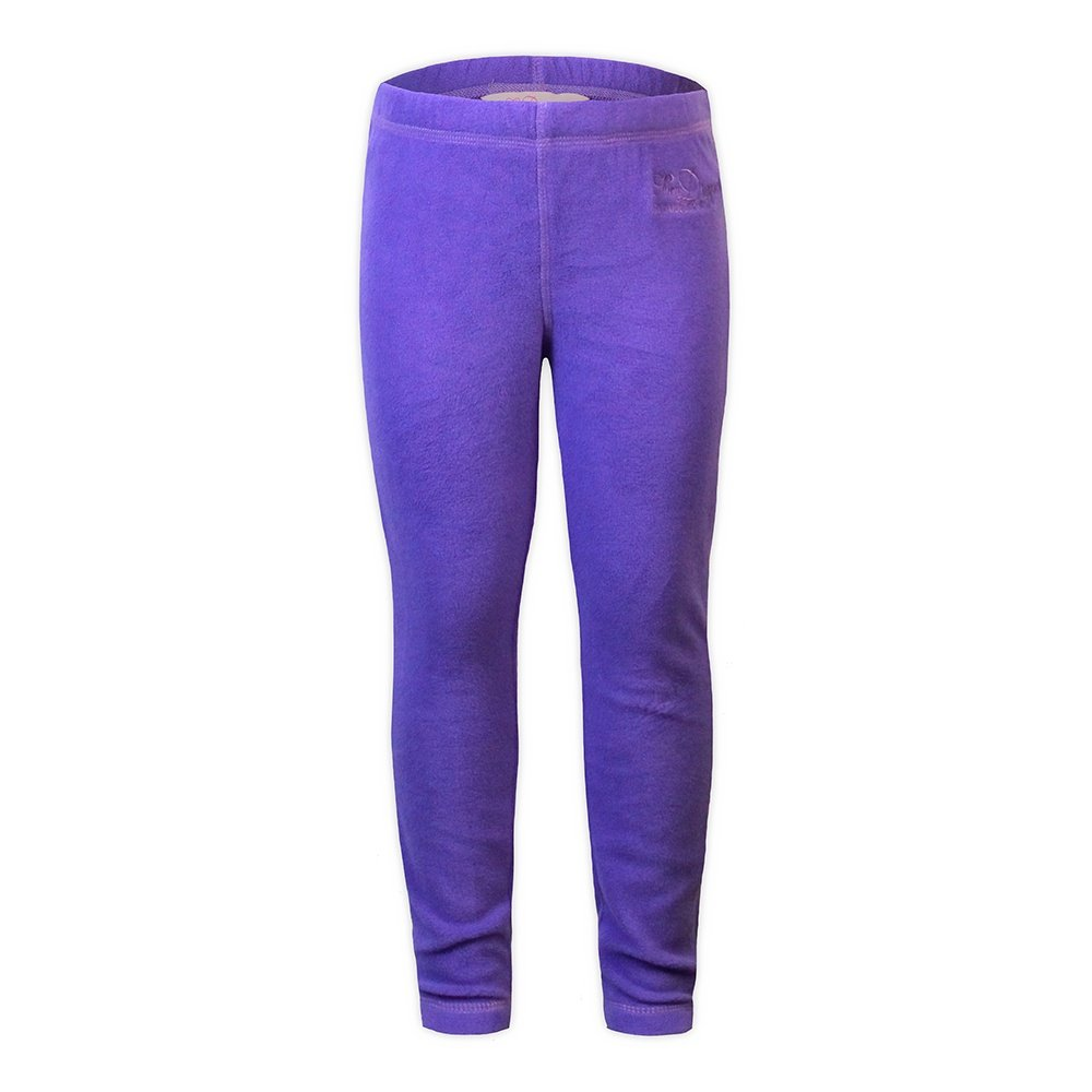 Snow Dragons Micro Fleece Tight (Little Girls') - Simply Purple/Plum Perfect